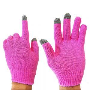 Handschuhe mit Touch Funktion Pink