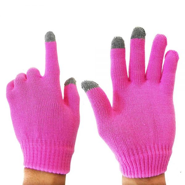 Handschuhe mit Touch Funktion Pink