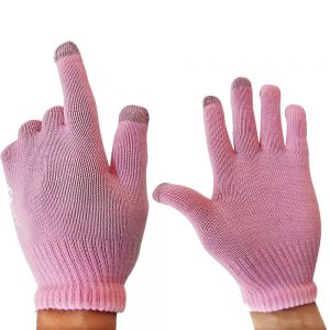 Handschuhe mit Touch Funktion Rosa