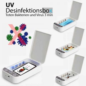 UV desinfektion box