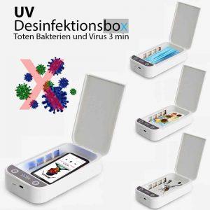 UV desinfektion box