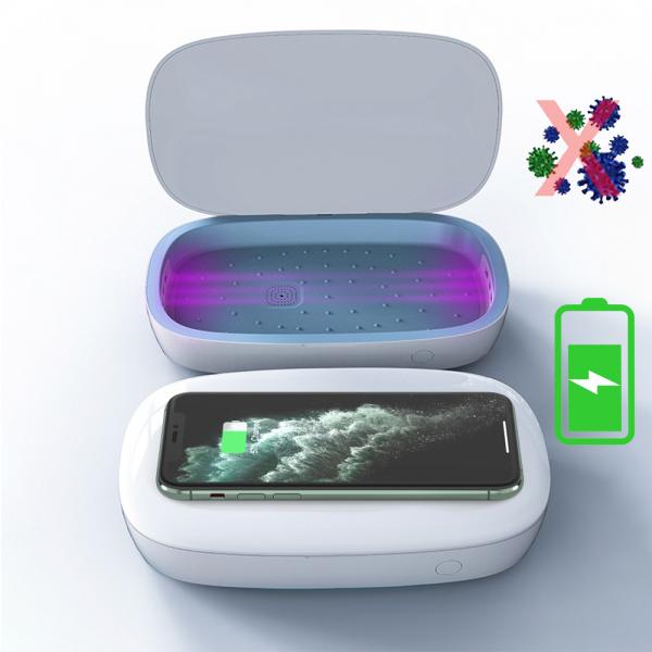 UV Desinfektion Box mit Kabellose Smart Schnellladegerät